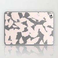 Pastel Pink Bird Wings O… Laptop & iPad Skin