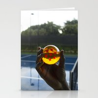 TENNIS(DRGN)BALL. Stationery Cards