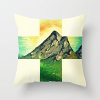 Through His Eyes Throw Pillow