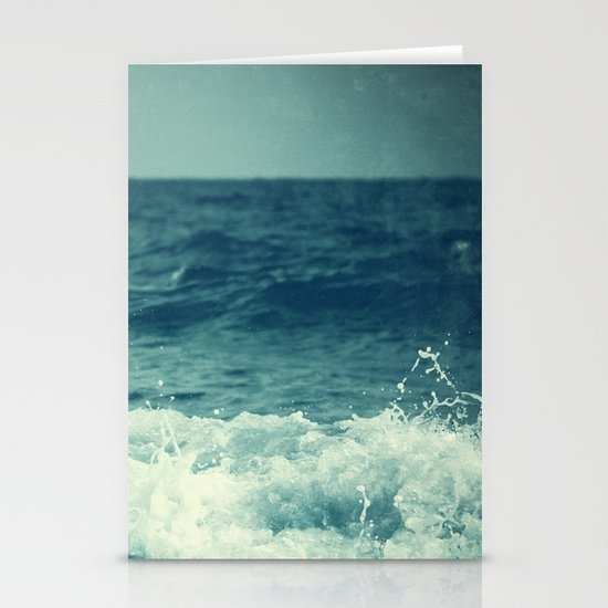 The Sea II. (Sea Monster) Stationery Card