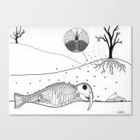 Specimen A Canvas Print