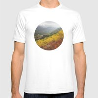 Rocky Mountain Colors Mens Fitted Tee White SMALL