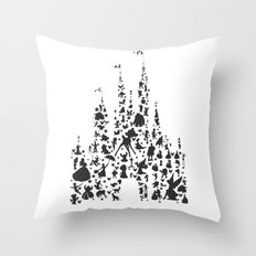 character castle...  Throw Pillow