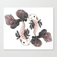 Pesci Canvas Print