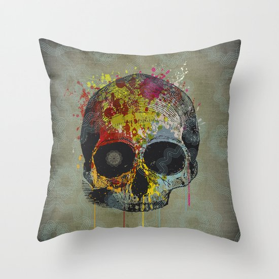 Smile, it's going to happen someday Throw Pillow