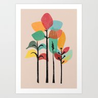Tropical Groove Art Print