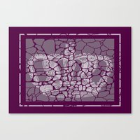 CRACKED CROWN  Canvas Print