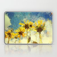 Her Thoughts Were Happy … Laptop & iPad Skin
