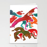 Capoeira 243 Stationery Cards
