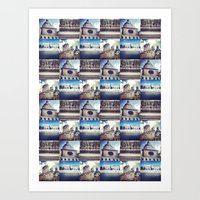 Paris Summer  Art Print