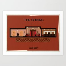The shining_ Directed by Stanley Kubrick Art Print