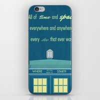 Doctor Who TARDIS iPhone & iPod Skin