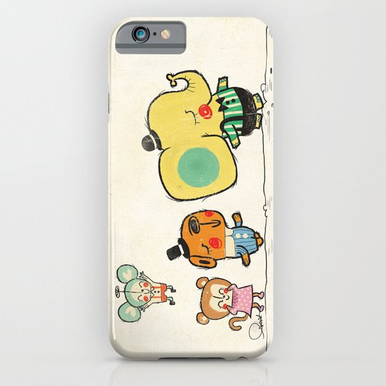 Walking with you iPhone & iPod Case