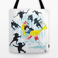 Tales of a Snow Geisha Tote Bag