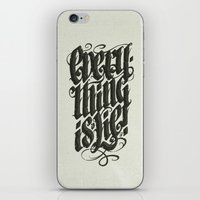 Everything... iPhone & iPod Skin
