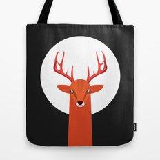 Deer and Moon Tote Bag