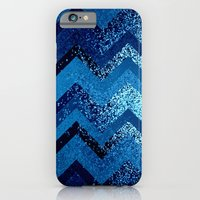 iPhone & iPod Case featuring sparkly and dark blue adventure by Marianna Tankelevich
