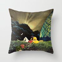 Postcard From New Icelan… Throw Pillow