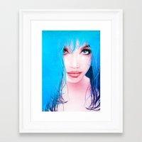 MonGhost XI - TheBlueDream Framed Art Print