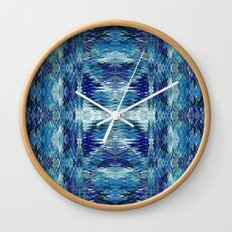 Zuni River Wall Clock