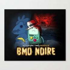 Adventure Time: BMO Noire Canvas Print