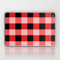 Red squares Laptop & iPad Skin