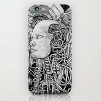 robot iPhone & iPod Cases featuring Robot by Walid Aziz