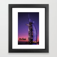 City Of Gold Framed Art Print