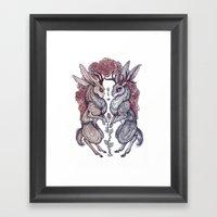 Rare Hearts Framed Art Print