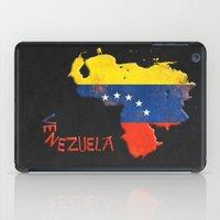 Venezuela Vintage Map iPad Case