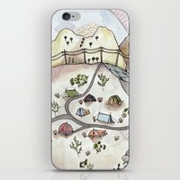 Desert Camp iPhone & iPod Skin