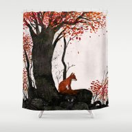 Fantastic Mr. Fox Doesn'… Shower Curtain