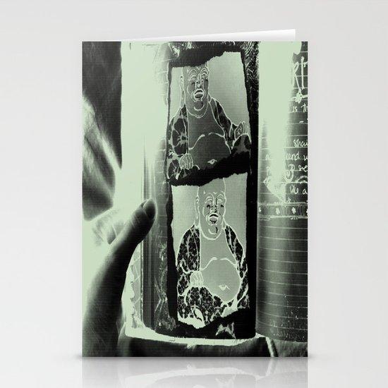 Tickling Buddha Stationery Card