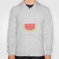 Kawaii watermelon Hoody