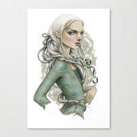 Vanishing Cream Canvas Print