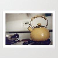 Film -- Kitchen Love Art Print