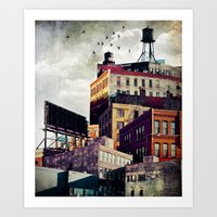 The Rooftop #3 Art Print
