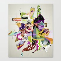 Futureworld #01 Canvas Print