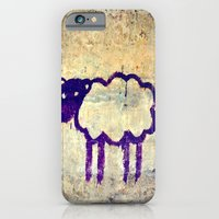 iPhone & iPod Case featuring Just a Sheep by Urban Sheep