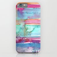 Water Stripes iPhone 6 Slim Case