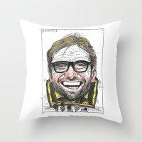 KLOPP Throw Pillow