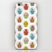 Quirky Cupcakes iPhone & iPod Skin