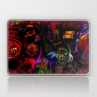 Collage Art Artsy Art by Sherri Of Palm Springs Laptop & iPad Skin