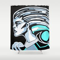 CYBERNETIC Shower Curtain