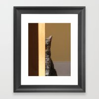 Right Up To Your Face And Diss You Framed Art Print