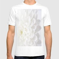 Mums Mens Fitted Tee White SMALL
