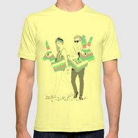 Piñata Party! Mens Fitted Tee Lemon SMALL