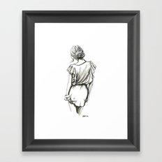 Forever Lovely Framed Art Print