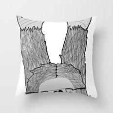 Trendi Yeti Throw Pillow