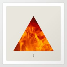 Elements - Fire Art Print